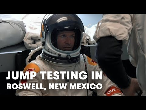 Red Bull Stratos / Felix Baumgartner's Jump