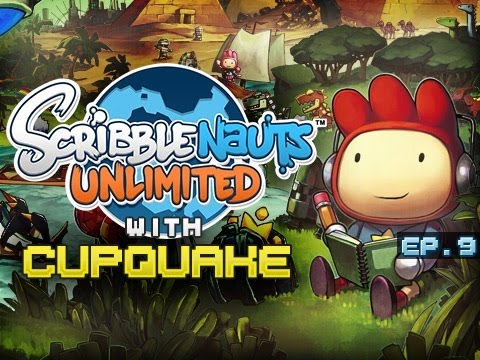 """?!"" Scribblenauts Unlimited Ep 9"