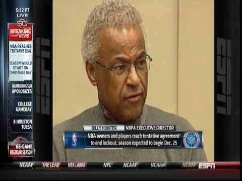 November 26, 2011 - ESPN - NBA Lockout Ends and 66 Game Season Starting Christmas Announced