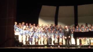 KISD Honor Choir performs America of Thee I sing  and others. view on youtube.com tube online.