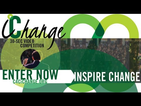 iChange Video Competition - new deadline: May 15th