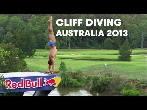 Cliff Diving Qualifiers in Australia - Red Bull Cliff Diving World Series 2013