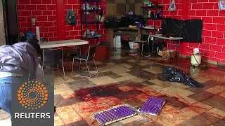 Bloodbath after Mexico Marine shootout with gangsters - REUTERSVIDEO
