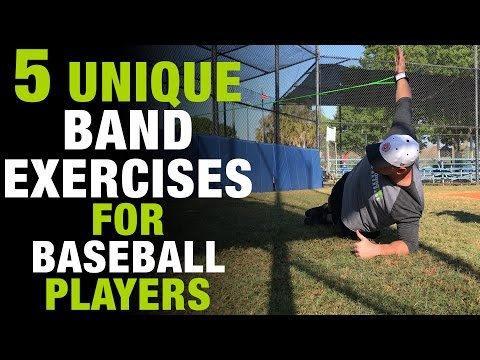 5 Unique Resistance Band Exercises For Baseball Players To Get Stronger