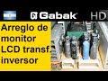 Reparacion de monitor LCD transformador inversor
