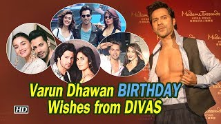 Varun Dhawan BIRTHDAY, Sweetest Wishes from DIVAS - BOLLYWOODCOUNTRY