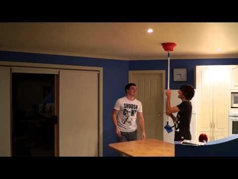 Waterbowl prank ninja