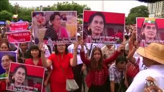 Aung San Suu Kyi Draws Mixed Reviews for Speech on Rohingya Crisis - VOAVIDEO
