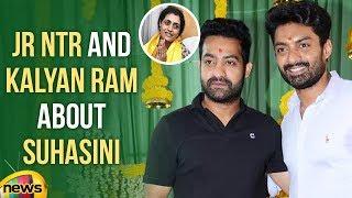 NTR Kalyan Ram Tweets over Suhasini | Suhasini Kukatpally Constituency | Mango News - MANGONEWS