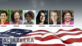 The Trump effect: Feminist movement rises in opposition - ALJAZEERAENGLISH