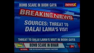 Two crude bombs were found at Bodh Gaya Temple in Bihar; threat to Dalai Lama's visit says sources - NEWSXLIVE