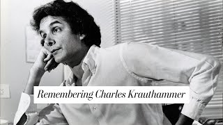 Remembering Pulitzer Prize-winning columnist Charles Krauthammer - WASHINGTONPOST