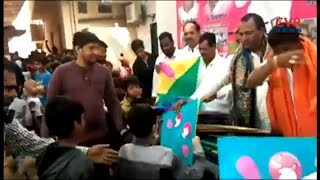 Medchal MLA Malla Reddy Kites distributed to children | CVR News - CVRNEWSOFFICIAL