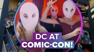Inside the DC Comic-Con experience - CNETTV