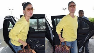Kareena Kapoor Khan keeps it cool and casual at the airport as she heads to Delhi - TIMESOFINDIACHANNEL
