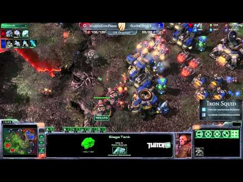 Iron Squid 2012 - RO8 - G1 - SlayerSBoxeR (T) vs MarineKingPrime (T)