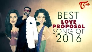 Best Love Proposal Song 2016 | Tiger Lion Kid Ft. | Music Sukumar P - TELUGUONE