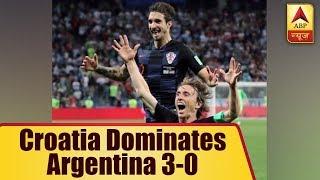 FIFA World Cup 2018: Croatia dominates Argentina 3-0 - ABPNEWSTV