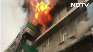 दिल्लीः नारायणा इंडस्ट्रियल एरिया की फैक्ट्री में लगी भीषण आग - NDTVINDIA