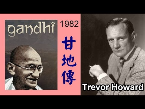 TREVOR HOWARD  (GANDHI 1982)
