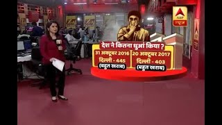 Post Diwali air pollution in Delhi 'severe', but better than last year - ABPNEWSTV