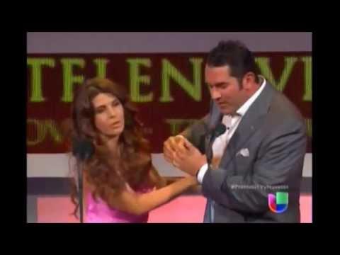 Eduardo Santamarina y Mayrin Villanueva en PTVYN 2013 (29/abril/2013).