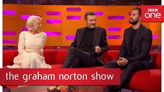 Jamie Dornan made himself some fake pubic hair  - The Graham Norton Show - BBC One - BBC