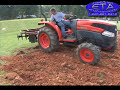 How to - Disc Harrow a Garden, Tractor 3pt. Hitch