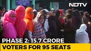 Elections 2019: Voting Begins In 95 Seats Across 11 States In Second Phase - NDTV