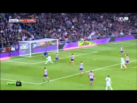 Real Madrid vs Atletico Madrid 3 0 ~ All Goals 05-02-2014