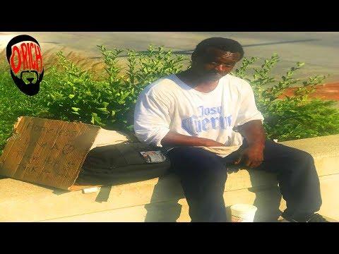 Homeless Man Breaks Down the Bible, The Black Church and True Love! D-Rich TV Vlog - يوتيوبات