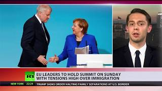Bone of contention: EU leaders to hold summit amid high tensions over migrant policy - RUSSIATODAY