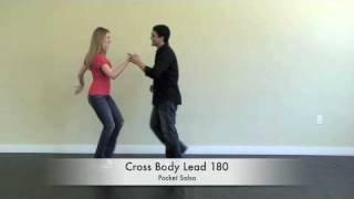 Salsa Dance Basics : The Cross Body Lead 180
