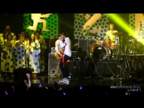 MIKA - 'Big Girl' live in Korea (Seoul Jazz Festival)_5/17/2013