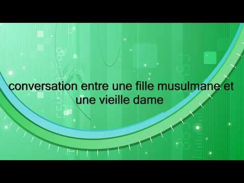 conversation entre une fille musulmane et une  vieille dame(Call Center Maroc Emouvant)