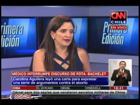 """Carolina Aguilera sobre proyecto de despenalización: """"Yo no practicaría jamás un aborto"""""""