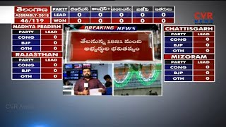 District wise Details of Polling Counting Centers | Telangana Election Results | CVR News - CVRNEWSOFFICIAL