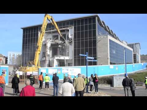 Bournemouth IMAX gets demolished