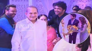 Super Star Krishna and Vijaya Nirmala @ ChaySam Wedding Reception | TFPC - TFPC