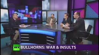 CrossTalk Bullhorns: War and insults (Extended version) - RUSSIATODAY