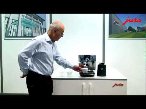 JURA IMPRESSA J9 One Touch Product Demonstration