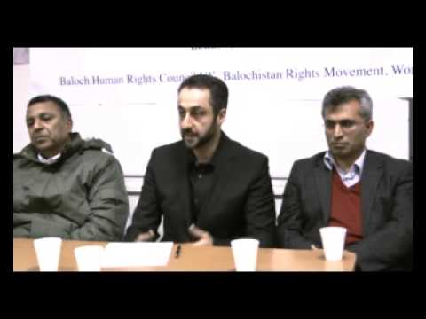 Part2 London 2nd Anniversary of Martyr Mir Balach Marri  22nd November 2009