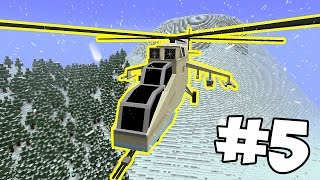 НОВОГОДНИЕ ПРИКЛЮЧЕНИЯ #5 - ВЕРТОЛЁТ ! Набор Подписчиков в Приключения [Minecraft]