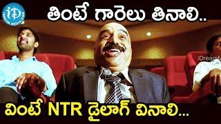 తింటే గారెలు తినాలి వింటే NTR డైలాగ్ వినాలి. - Ramayya Vasthavayya || NTR, Shruthi Hassan - IDREAMMOVIES
