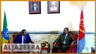 🇪🇷 🇪🇹 Eritrea President Isaias Afwerki in Ethiopia for landmark visit | Al Jazeera English - ALJAZEERAENGLISH