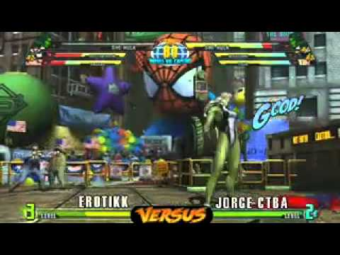 Marvel vs Capcom 3 - Final da Losers - Ero-tikk vs Jorge
