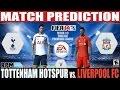 FIFA 14: Liverpool vs. Tottenham Hotspur Match Prediction EPL Fecha #2