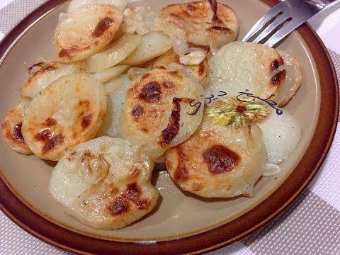 صينية بطاطس بالطريقة اليونانى - صوت وصوره