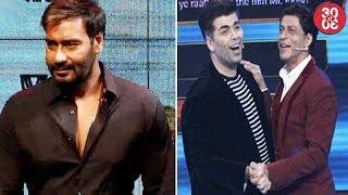 Ajay Devgn Becomes A Bollywood Rebel | Karan Johar Shoots For Shah Rukh's Show