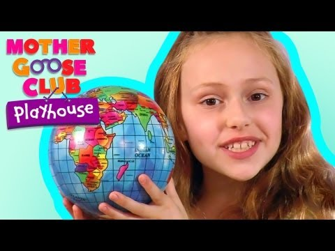 If All the World Were Paper - Mother Goose Club Nursery Rhymes -N2jTXvz4fRE